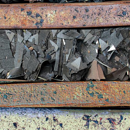 « Débris no 2 », estampe numérique, 10 x 11 cm